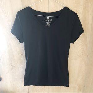 90Degree Black Gym T-shirt